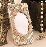 3D Magic Mirror Crystal diamond Case...