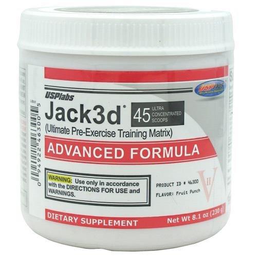 USP Labs Jack3d Advanced Fruit Punch