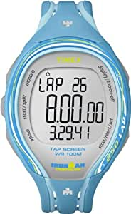 Timex Ironman Sleek 250 Lap Tap Screen-Uhr (Aqua -Blau) ~ T 5K590 SU