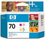 HP Original 70 Magenta and Yellow Pri...