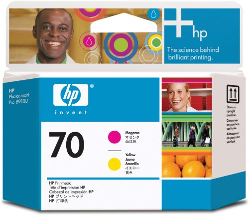 HP C9406A Testina di Stampa 70, Magenta/Giallo