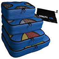 Shacke Pak – 4 Set Packing Cubes – Tr…