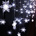 Fuloon 2M x 1M 104 Led 8 Modes Snowfl...