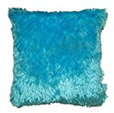 SQUARE LIGHT BLUE SOFT CUSHION