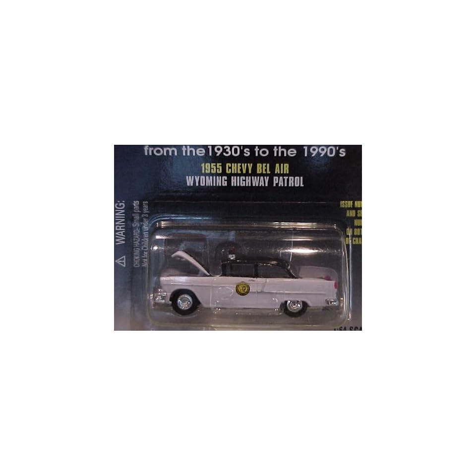 Racing Champions 1955 Chevy Bel Air Wyoming Highway Patrol 1/64 Scale