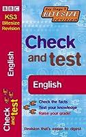 Check and Test: English