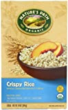 Nature's Path Organic whole grain brown Crispy rice Gluten free, 10-Ounce Boxes (Pack of 6)