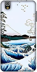 The Racoon Grip The Sea at Satta, Suruga Province hard plastic printed back case / cover for Yu Yureka
