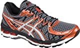ASICS Mens Gel-Kayano 20 Running Shoe,Storm/White/Rust,8.5 M US