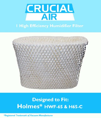 1 Holmes HWF-65 & H65-C Humidifier Wick Filter, Fits Holmes HWF-65 & H65-C, Designed & Engineered by Crucial Air