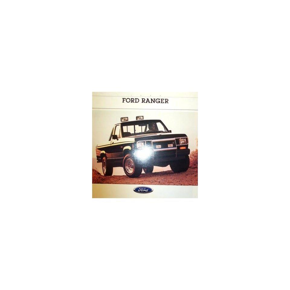 1988 Ford Ranger Sales Brochure Literature Piece Advertisement Specifications