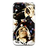 New Arrival New Orleans Saints Cover Case With Football For Iphone 4/4s at Amazon.com