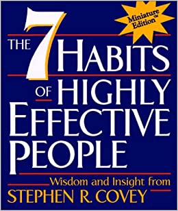 The 7 Habits of Highly Effective People(Miniature Edition): Stephen R