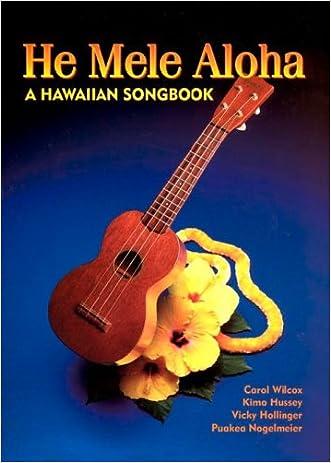 He Mele Aloha written by et al Carol Wilcox
