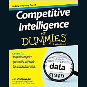 Competitive Intelligence for Dummies | Livre audio