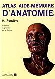 echange, troc Henri Rouvière, André Delmas, Vincent Delmas - Atlas aide-mémoire d'anatomie