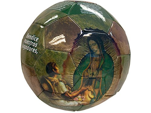 bulk buys Virgen Photo Soccer Ball - 1