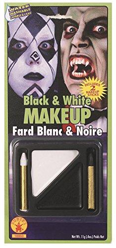 Rubie's Costume Co Black & White Makeup Kit