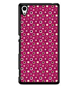 Printvisa Pink Dotted Pattern Back Case Cover for Sony Xperia Z4::Sony Xperia Z4 E6553