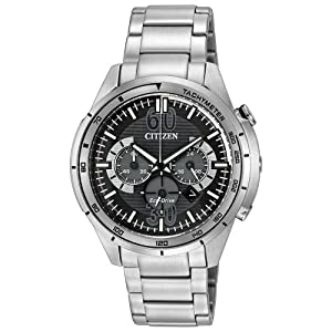 Citizen Men's CA4121-57E Drive from Citizen HTM Analog Display Japanese Quartz Silver Watch