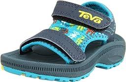 Teva Psyclone 2 Sport Sandal (Infant/Toddler),Robot Blue,2 M US Infant