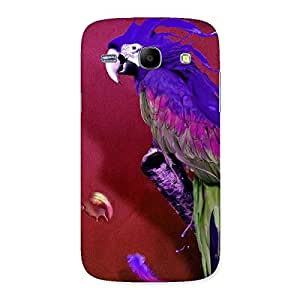 Delighted Magic Parrot Multicolor Back Case Cover for Galaxy Core