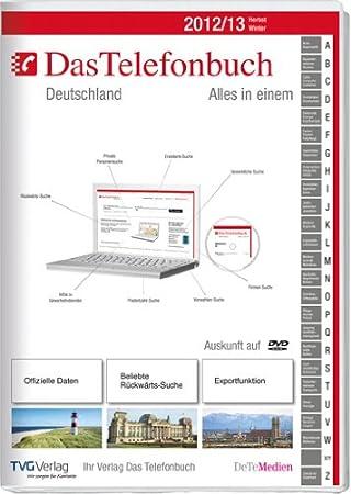 Das Telefonbuch. Deutschland Herbst/Winter 2012/13 inkl. Rückwärtssuche