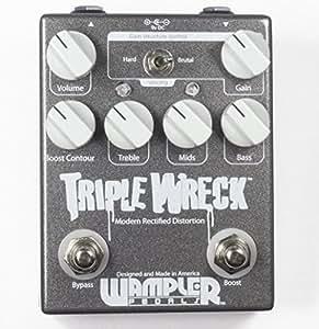 Wampler Triple Wreck Modern Rectified Distortion Pedal