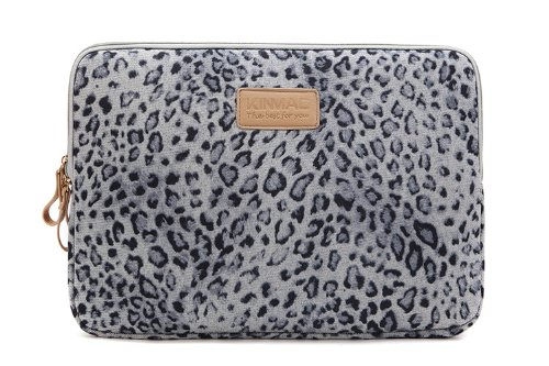 Leopard Black and White Leopard Pattern 15 Inch to 15.6 Inch Laptop Sleeve Carrying Case Neoprene Sleeve for Acer//asus//dell//Lenovo//MacBook Pro//hp//Samsung//Sony//Toshiba