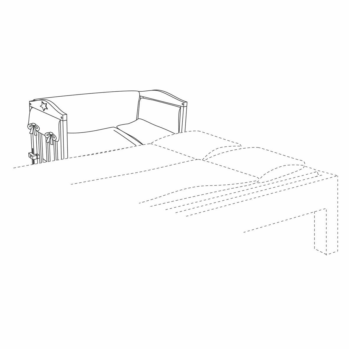 roba 8943 s106 stubenbett babysitter 4in1 gl cksbringer. Black Bedroom Furniture Sets. Home Design Ideas