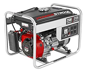 PowerStroke PS902500D Gas-Powered Portable Generator, 2500-watt