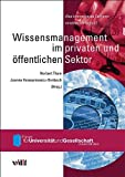img - for Wissensmanagement im privaten und  ffentlichen Sektor book / textbook / text book