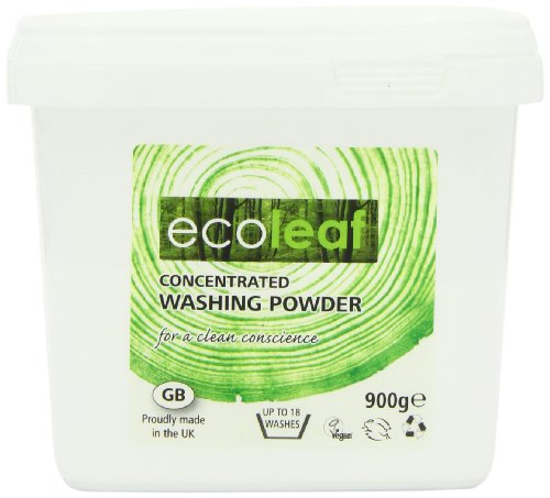 Ecoleaf Concentrated Washing Powder 900 g (Pack of 6)