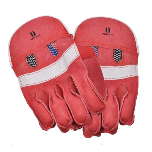 Upfront Qvu Wicket Keeping Gloves - Junior (Random colour), S. Child 5-7 year old