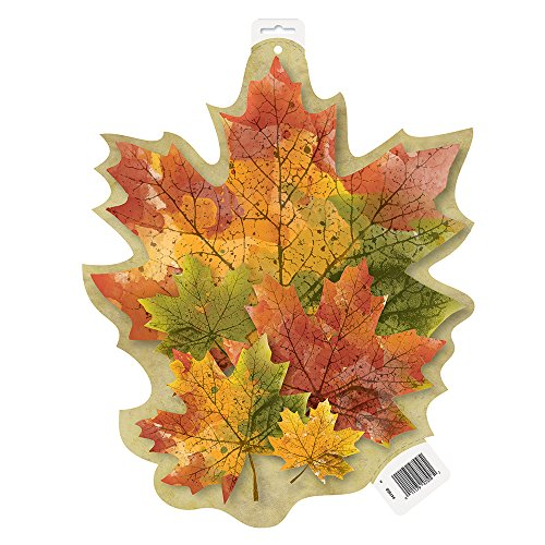 "16.5"" Paper Cut Out Rustic Fall Decoration - 1"