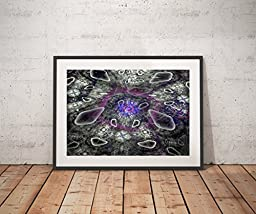 Particle Theory - Abstract Art print