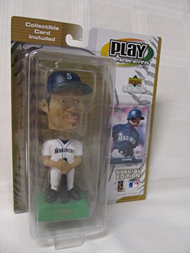 "2001 Upper Deck Play Makers Special Edition ""Ichiro"" Bobblehead 200 Hits - 1"