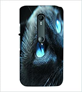 PRINTSWAG CAT EYES Designer Back Cover Case for MOTOROLA MOTO G3