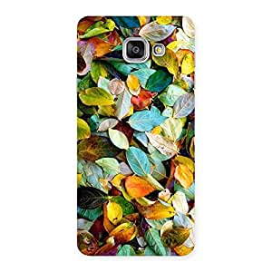 Premium Beautiful Colorfull Leafs Back Case Cover for Galaxy A7 2016