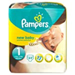 Pampers Windeln New Baby Gr.1 Newborn...