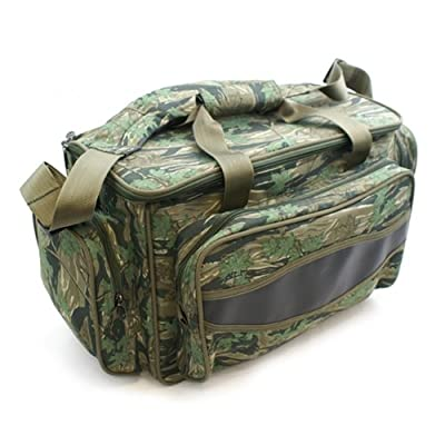 fishing tackle bag - camo carryall / holdall carp fishing, game fishing sea fishing - a great present by Carp Corner
