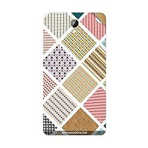 Skin4Gadgets Varied Pattern Phone Skin STICKER for INTEX AQUA DREAM 2