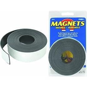 "Master Magnetics #07019 1""x10' Flex Magnet Tape"