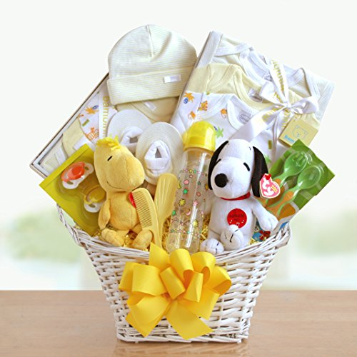 Peanuts Baby Welcome Basket front-33928