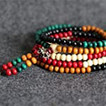Multi-color Tibetan Buddha Prayer San...