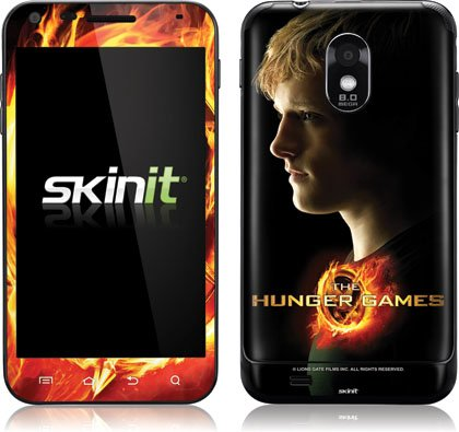 Skinit The Hunger Games -Peeta Mellark Vinyl Skin for Samsung Galaxy S II Epic 4G Touch -Sprint