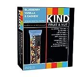 KIND Bars, Blueberry Vanilla & Cashew, Gluten Free, 1.4 Ounce Bars, 12 Count