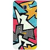 For Samsung Galaxy A8 (2016) Raffiti Geometric Seamless Pattern ( Raffiti Geometric Seamless Pattern, Grunge Effect, Seamless Pattern ) Printed Designer Back Case Cover By FashionCops