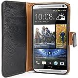 i-Blason HTC One Max (T6, 5.9 Inch Display) Slim Book Case Cover (Black)
