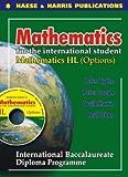 Mathematics HL Options for International Baccalaureate